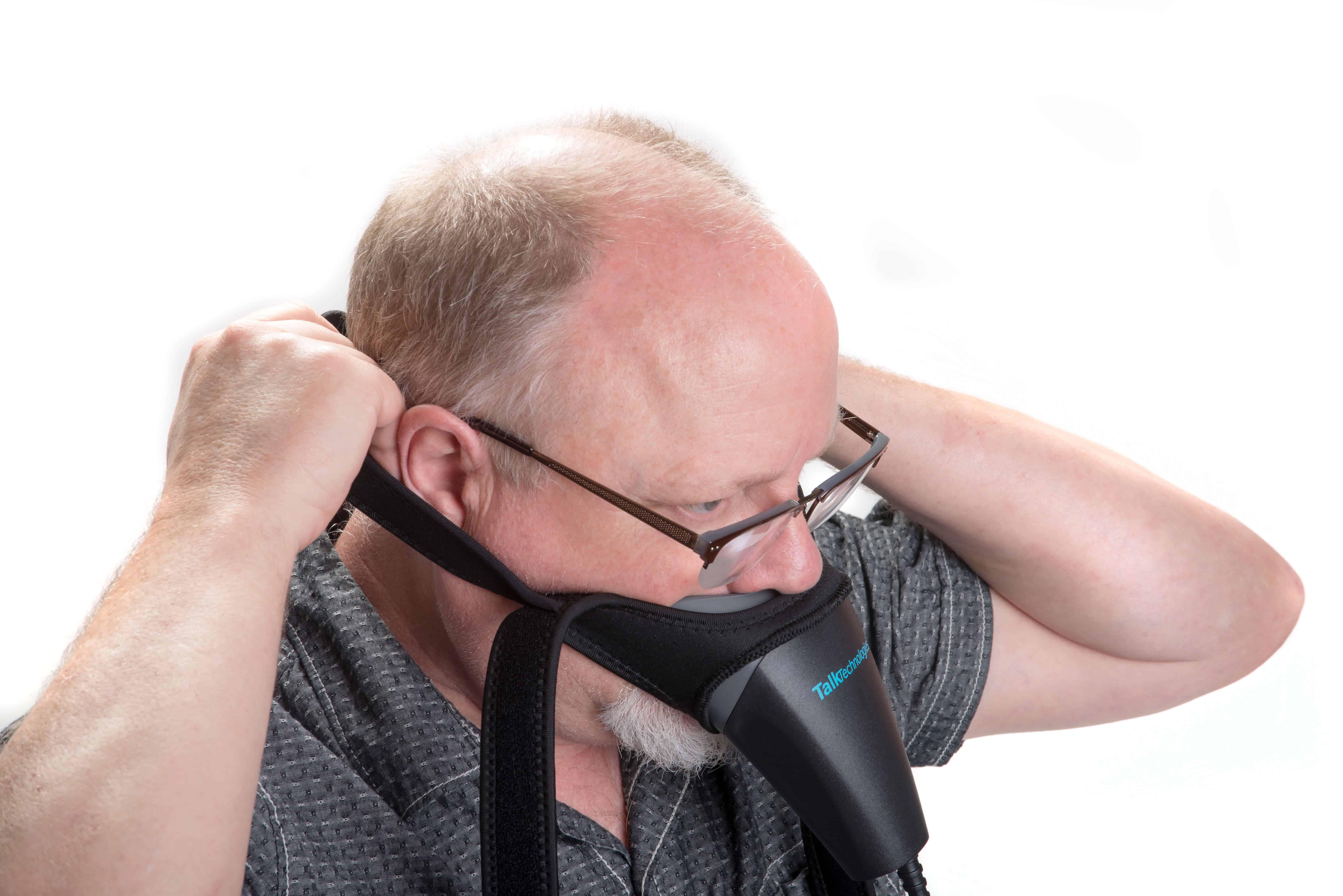hands free stenomask