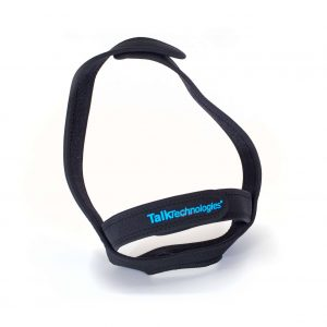 Adjustable hands free strap for Stenomask